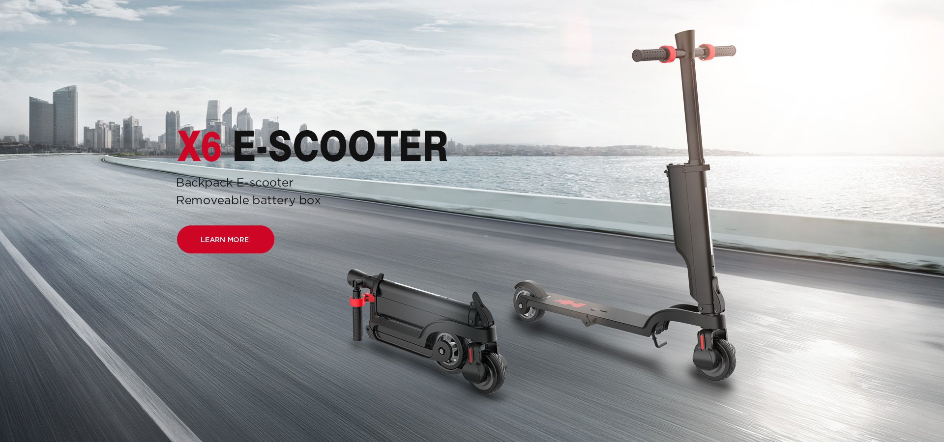 X6 Backpack E-scooter